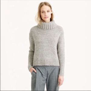 Chunky Knit Wool Blend Sweater from J.Crew